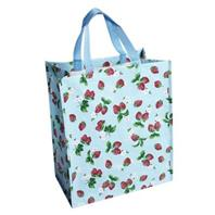 recycled shopper bag strawberry